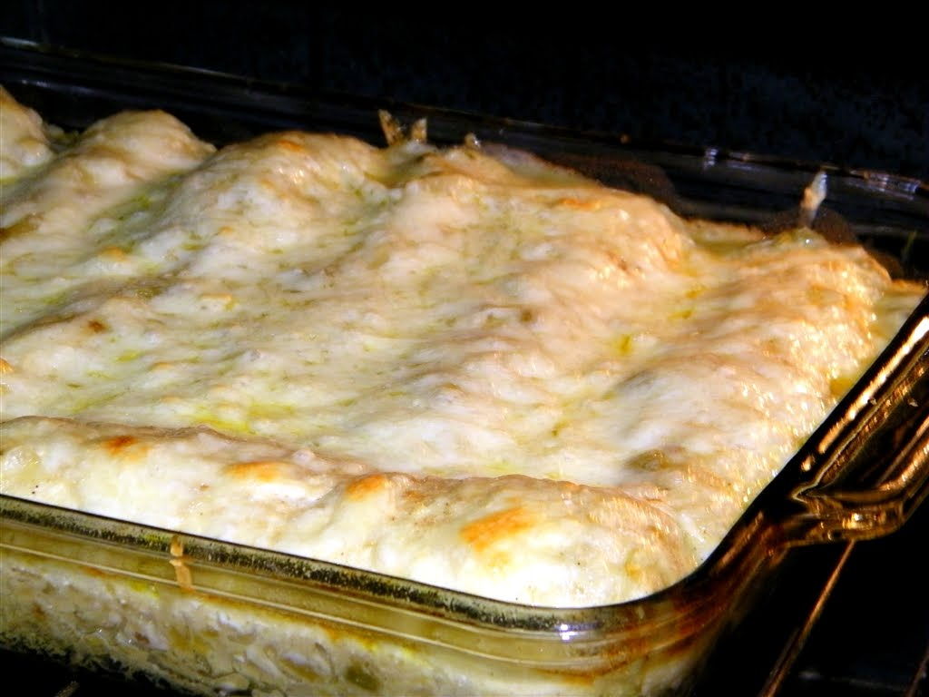 Chicken Enchiladas Recipe — Dishmaps